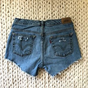 5 for $25 SALE Levi's Cut Offs Distressed Shorts